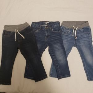 Cat & Jack Blue Jeans Bundle 2T